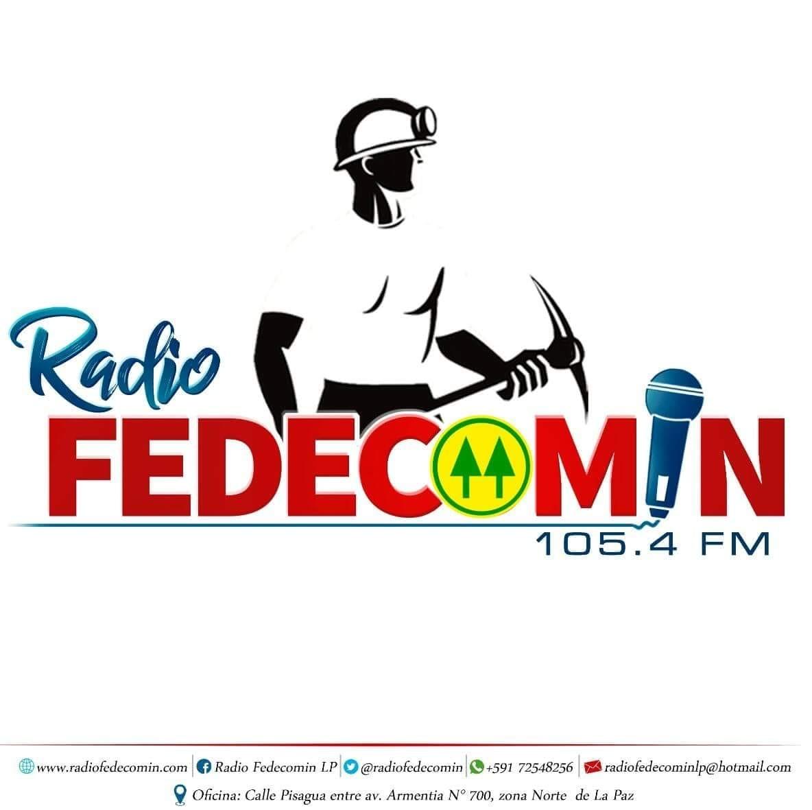 Радио Fedecomin 105.4 FM Боливия, Ла-Пас