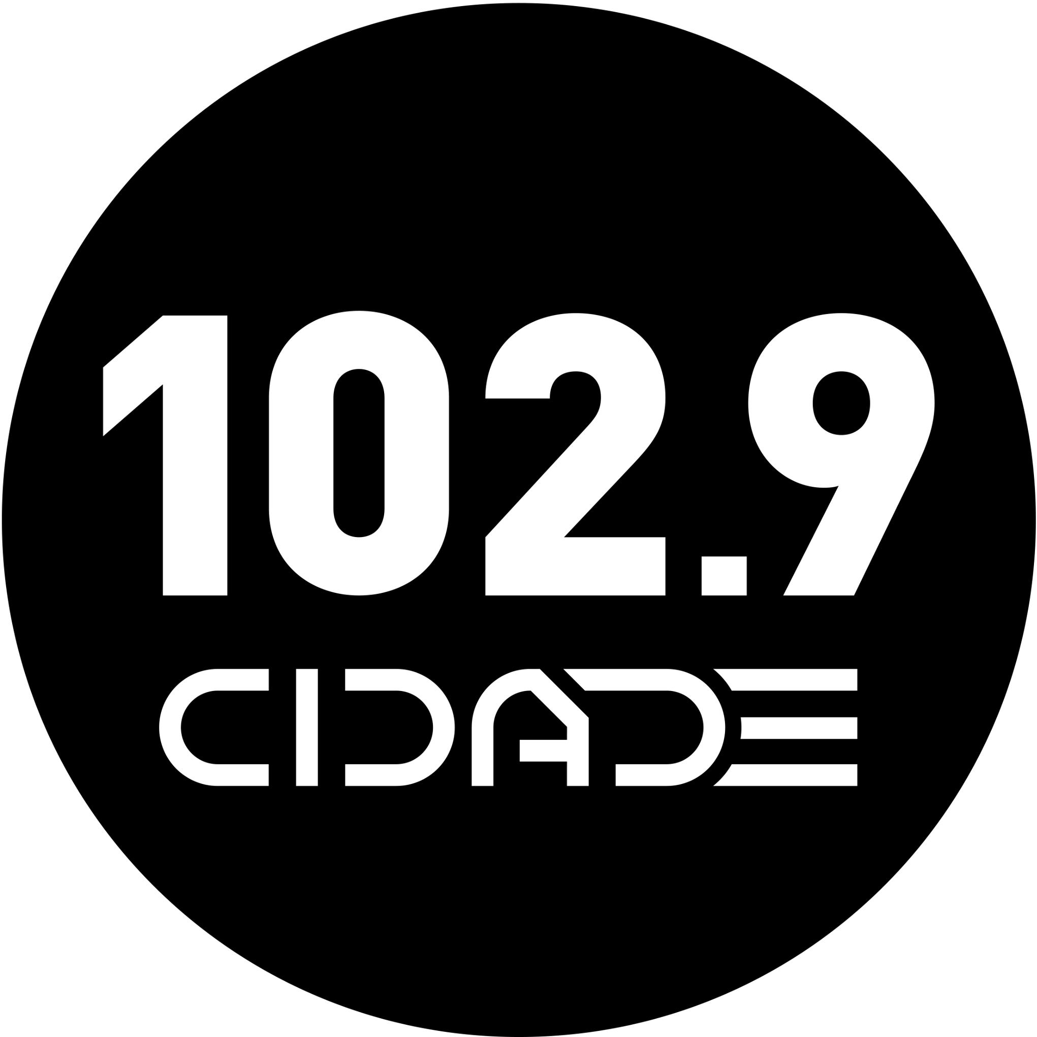 Радио Cidade 102.9 FM Бразилия, Рио-де-Жанейро