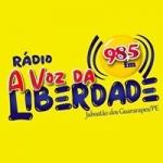 radio FM a Voz da Liberdade 98.5 FM Brasil, Jaboatão dos Guararapes