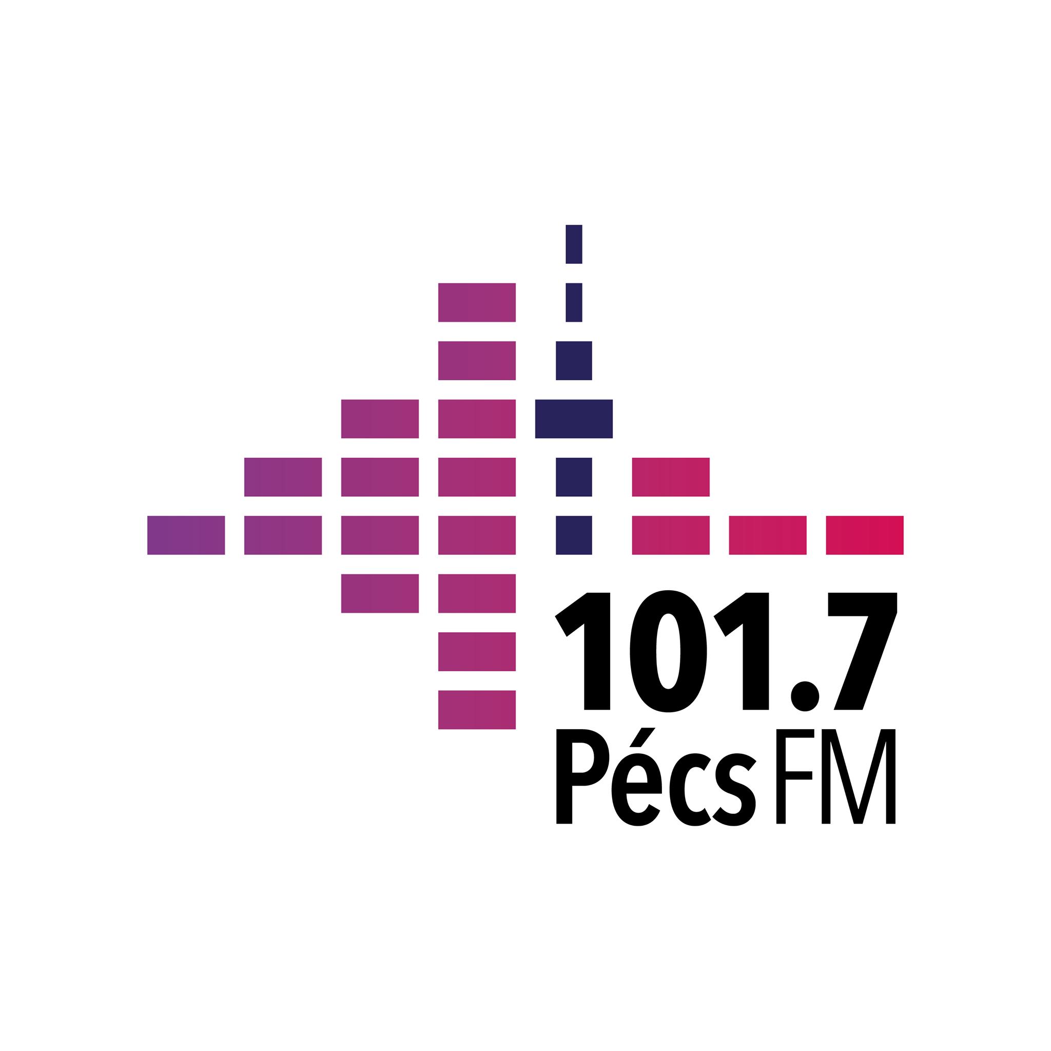 rádio Pécs FM 101.7 FM Hungria, Pécs