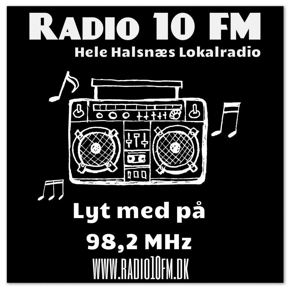 rádio 10FM 98.2 FM Dinamarca, Frederiksværk