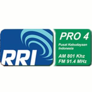 rádio RRI Pro 4 96.8 FM Indonésia, Surabaya