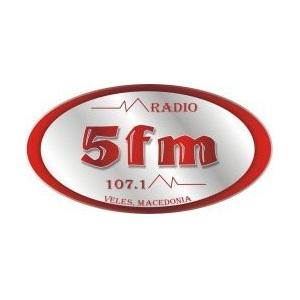 Радио 5FM 107.1 FM Македония, Велес