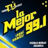 radio La Mejor 99.1 FM Messico, Piedras Negras