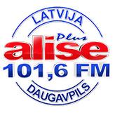 radio Alise Plus 101.6 FM Lettonie, Daugavpils