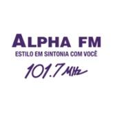 Radio Alpha FM 101.7 FM Brazil, Sao Paulo