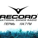 rádio Record 104.7 FM Rússia, Perm